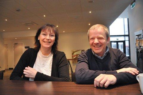 AP-DUO: Monica Nielsen og Ole Steinar Østlyngen.