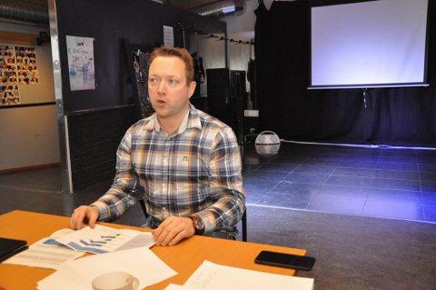 FOLKEHELSE: Gjermund Abrahamsen Wik er folkehelsekoordinator i Alta kommune.