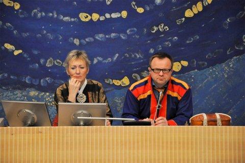 FORTSETTER: Jørn Are Gaski fortsetter som plenumsleder og Anita Persdatter Ravna som nestleder i møtelederskapet på Sametinget.