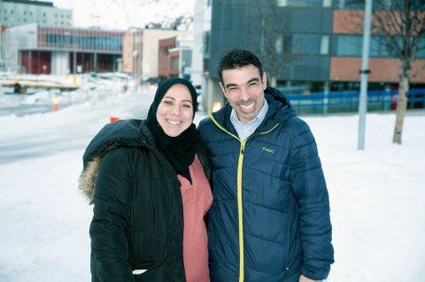 TAKKNEMLIGE: - Vi er veldig takknemlige over å komme til Norge og ønsker å være selvhjulpne, sier paret, som drømmer om å starte restaurant.