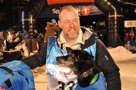 VANT: Petter Jahnsen vant Finnmarksløpet 1.000 kilometer i år.