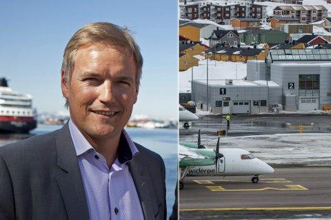 FIKK NY JOBB: Kjetil Kvamme er ny lufthavnsjef i Hammerfest, og tar fatt på jobben i august.