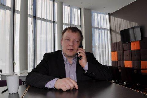 DIREKTØR: John Arne Mathiesen er direktør på Scandic-hotellet i Karasjok.