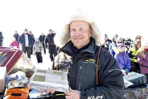 VINNER 2016: Med to fisker avgjorde Torfinn Halvari fra Kirkenes fjorårets konkurransen.Foto: Tormod Nilsen