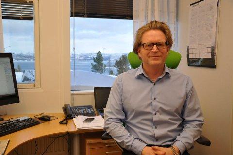 Kommuneadvokat Torbjørn Saggau Holm i Alta. Foto: Oddgeir Isaksen