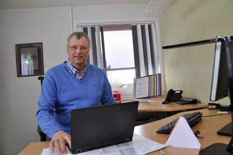 PÅ JOBB: Bjørnar Bruer var mandag tilbake på jobb som leder for elevboligene i Alta.