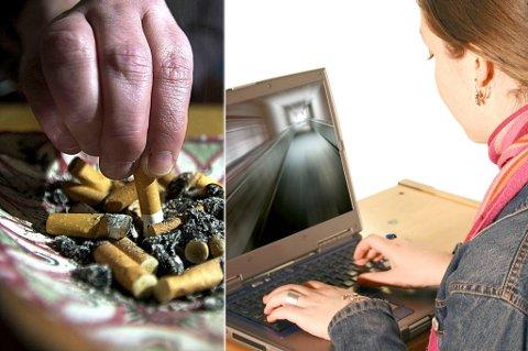 TRUER HELSA: Røyking og å sitte for mye i ro er blant Hammerfests største folkehelseutfordringer.