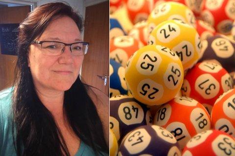 MEST TIL JOBB: Lottogevinsten gikk til investeringer i ny bedrift, og til «litt kos», forteller Helene Walsø-Kanstad.