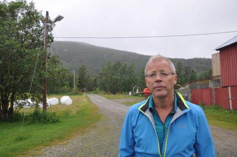 Bonde Arne Johanson i Mathisdalen.