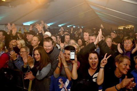 FESTSTEMNING: Her er publikum under en konsert et tidligere år.