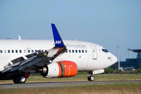 STEIK: Norske flygere i SAS godtar ikke forskjellsbehandling. Foto: SAS/ANB
