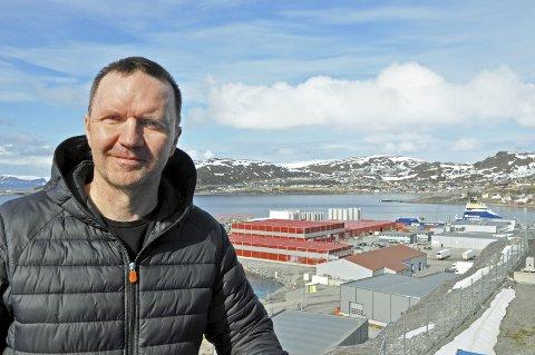 SAMLER NORSKE TEKNOLOGER:   Jan Tore Markussen i Kinevo får med seg store deler av det norske teknologimiljøet i forbindelse med årets Arctic Operations i Hammerfest.             Foto: Svein G. Jørstad
