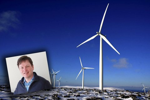 UUTNYTTET KRAFT: Viseadministrerende direktør ved Varanger kraft, Stein Mathisen, er bekymret for at det ligger ubenyttet kraft i de effektive vindmølleparkene i Finnmark. I dag er vi avhengige av å kjøpe strøm fra Russland og Finland for å ha sikker strømforsyning fordi ledningsnettet i Øst-Finnmark er for dårlig, mener Mathisen.