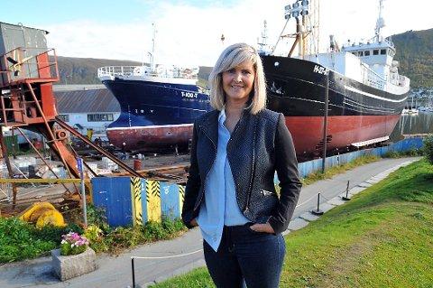 KLAR: Trude Ørpetvedt er klar til å utvikle Tromsø sentrum.