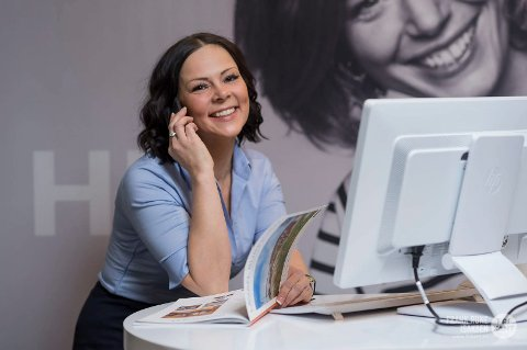 ARTIG: Når verdien på hus dobles fra salg til salg, har Inger Alette Eira en fin dag på jobben. Generelt er prisveksten god i nord.