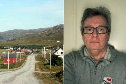 IKKE 2018 MEN 1968: Arnt Steinar Sporsheim mener at dekningsproblemene har satt Kokelv 50 år tilbake i tid.