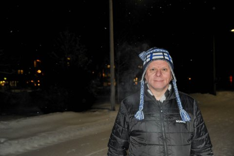 KUNNE VÆRT DØD: Svein-Arne Mella sier at dersom kompisen hans ikke hadde reagert fort nok, så kunne han ha vært død.