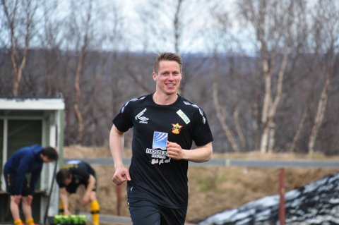 FOR TREDJE GANG: Jon Andreas Rognerud Eira er for tredje gang av tre mulige stemt fram på laget til Team Finnmark.