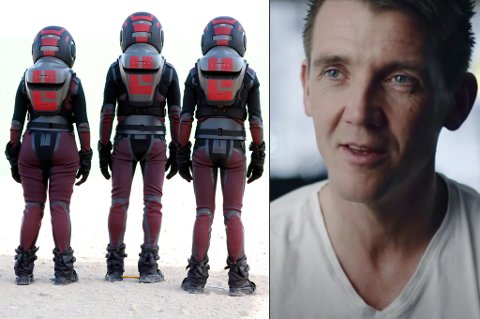 UVENTET: Bergan trodde han skulle legge til rette for filmteamet, ikke at han skulle få en rolle i dokumentarserien, som er en blanding av virkelighet og fiksjon med reise til Mars.