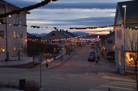 INGEN SNØ: Bildet som ble tatt 4. desember I Vadsø viser hvor bart deler av Finnmark har vært.