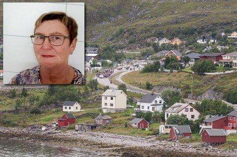 TV-KRØLL: Feil på Tyven-senderen er trolig grunnen til at Randi Karlsen og hennes naboer nær Hammerfest har hakkete tv-sendinger.