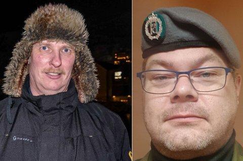 KREVER DEKNING: Bygdelagsleder Einar Røe (t.v.) og inititativtaker til oppropet, Hugo Nilsen, krever bedre mobildekning i Sandøybotn.