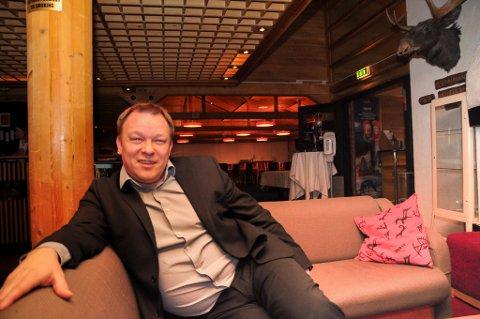 LURT: Direktør John Arne Mathiesen på Scandic-hotellet i Karasjok ble lurt av en finsk statsborger.