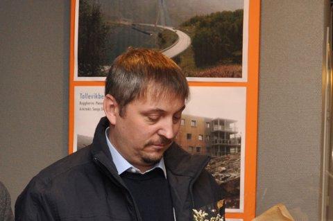MISTET RETT: Jørn Håvard Hanssen og IMJ Utvikling AS har mistet ansvarsretten for utbygging av en tomannsbolig på Holmen utenfor Alta. Her fra en tidligere anledning.