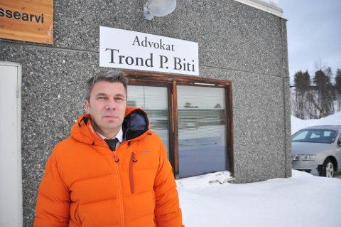 FORSVARER: Advokat Trond Pedersen Biti er forsvarer for Porsanger-mannen.