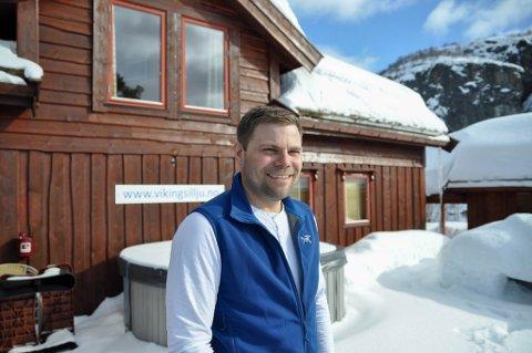 IS I MAGEN: - Jeg har ingen stress med å få solgt, sier Gøran Mathisen Majala, som ikke er i tvil om at han vil få solgt til den prisen han ønsker.