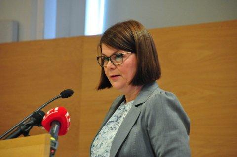 KONTROVERSIELT FORSLAG: Trine Noodt er enig i at forslaget hennes om å skyte ørn er kontroversielt, og kan være vanskelig å svelge for Venstre-folk lenger sør i landet.