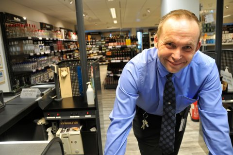 POLSJEF OG PROMILLE: Polsjef Daniel Johansen i Lakselv er ikke i tvil: Promilleveien må få beholde sitt navn.