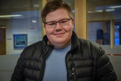 Gaute Klogh Henriksen er leder i AUF Finnmark.