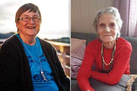 - FANTASTISK: Det syns Hildur Jacobsen og Othelie Olsen om at de begge er bestemødre til sangstjerner.