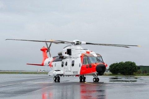 De nye AW101-helikopterene. Foto: Carina Johansen / NTB Scanpix