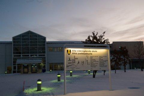 ÅPNER IGJEN: Alta videregående skole åpner fysisk igjen for elevene fra onsdag.