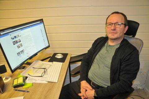 SA IFRA: Kurt Peder Rasmussen tok et oppgjør på Facebook med de som sprer grusomme rykter om folk.