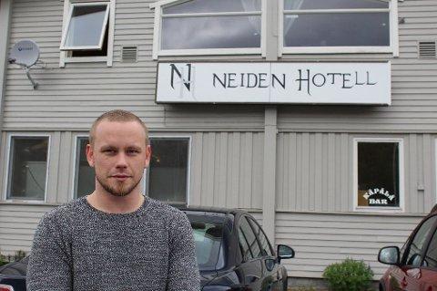 KONKURS: Neiden Hotell ble tirsdag begjært konkurs.  Hotellet er drevet av Arnt Mikael Arvola.