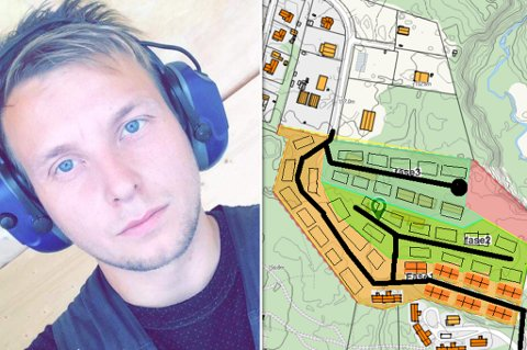 STORT: - Det er kanskje det største en privat aktør har gjort i hele Karasjok, sier Morten Ailu Hansen om prosjektet, som også vises her.