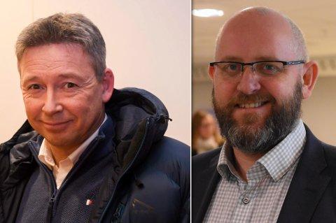INVITERER: Alta næringsforening ved direktør Kjetil Kristensen, og og Hammerfest næringsforening ved direktør Espen Hansen, håper bedriftene melder seg på møtet på Skaidi i mai.