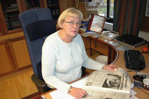 GIKK BORT: Tone Hatle, tidligere ordfører og høyrepolitiker i Sør-Varanger, gikk bort ved Kirkenes sykehus den 30. april.