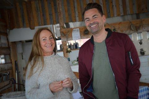 SAMARBEID: Eva Lyngvær og Jan-Steve Hellander har jobbet sammen i flere år. Nå tar de over resturanten på Ekkerøy.