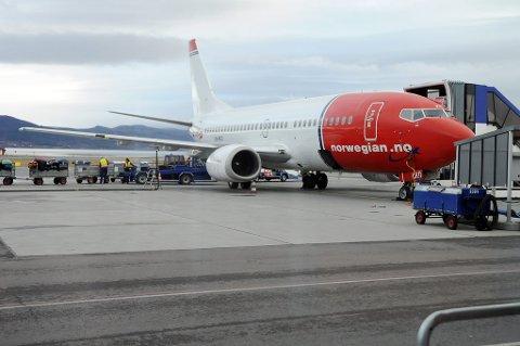 FORSINKET: Passasjerene måtte forlate flyet da feilen ble oppdaget. Illustrasjon.