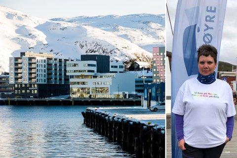 Personlig vil jeg gå så langt at jeg vil si det er direkte farlig for demokratiet i Hammerfest Kommune hvis vi på nytt får et parti med over 50 % av stemmene, skriver Kjersti Sollien Iversen