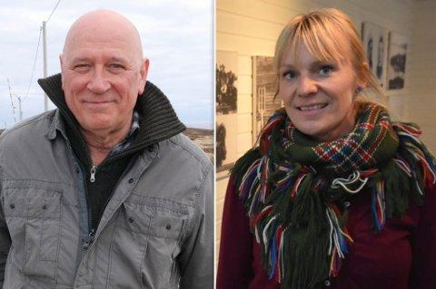 - FANTASTISK: Nestleder i styret, Jan Erik Raanes og avdelingsleder Anfrid Oline Hojem er godt fornøyd med interessen rundt jobben i Berlevåg.