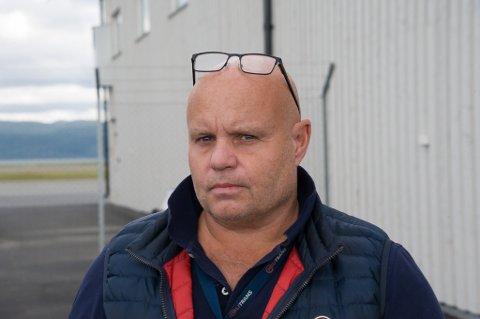 STERKT PREGET: Sjef for selskapet Helitrans AS Richard André Simonsen  er sterkt preget av ulykken som har rammet selskapet hans.