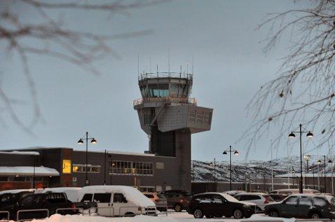 PROSENTFALL: Alta tapte flest passasjerer blant stamflyplassene, mens Hammerfest tapte flest passasjerer blant kortbaneflyplassene.