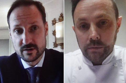 - BRYR SEG - At han bryr seg om det som skjer i landet og ikke minst her i nord er veldig hyggelig, sa Eirik Bæivi om møtet med kronprins Haakon over skjerm.