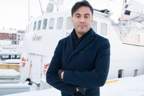 GOD DEKNING: Geir Håkonsund er redaktør for iFinnmark og Finnmark Dagblad. Han lover god dekning av det som er en vårens viktigste saker i politikken for Finnmark.