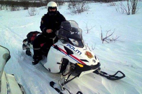 FLYTTES: Snøscooterne til politiet skal flyttes fra Vadsø til Kirkenes. Reinpolitiet vil forsatt være i område.